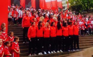 Équipe Canada pour la Coupe du monde féminine de la FIFA 2015. (Photo avec l'aimable permission de la FIFA.)