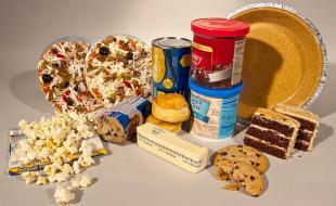Divers aliments contenant des acides gras trans